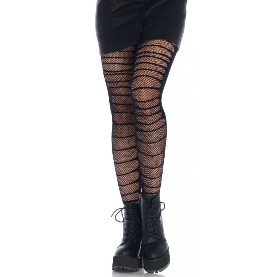 fb34b165fba Double Layer Shredded Tights at Cosplay Costume Closet Halloween Costume  Shop