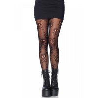 Pirate Skull and Crossbones Pantyhose