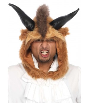 Brutal Beast Furry Hood Costume Hat Cosplay Costume Closet Halloween Shop Halloween Cosplay Costumes | Kids, Adult & Plus Size Halloween Costumes