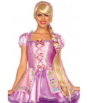 Repunzel Extra Long Blonde Costume Wig