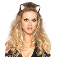 Latex Kitty Kat Ear Headband