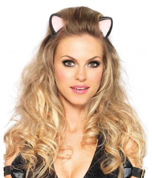 Latex Kitty Kat Ear Headband Cosplay Costume Closet Halloween Shop Halloween Cosplay Costumes | Kids, Adult & Plus Size Halloween Costumes
