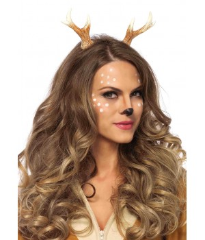 Fawn Horn Headband Cosplay Costume Closet Halloween Shop Halloween Cosplay Costumes | Kids, Adult & Plus Size Halloween Costumes