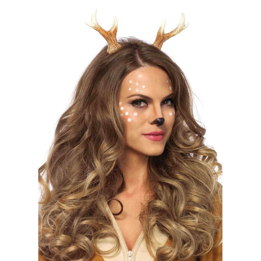 fawn horn headband for halloween or cosplay. Black Bedroom Furniture Sets. Home Design Ideas
