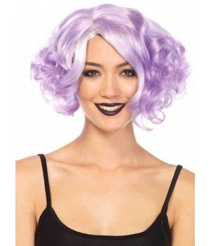 Lavender Curly Bob Short Wig Cosplay Costume Closet Halloween Shop Halloween Cosplay Costumes | Kids, Adult & Plus Size Halloween Costumes