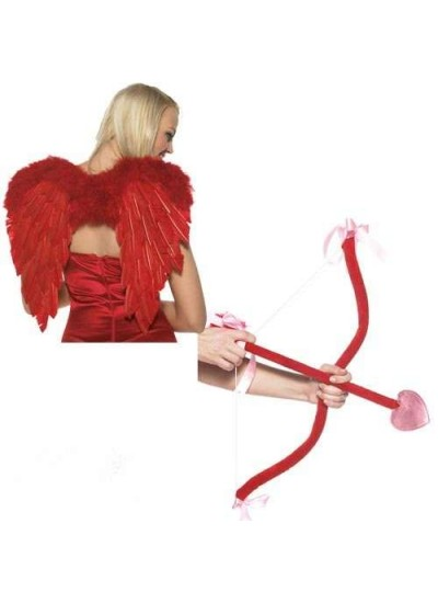 Cupid Wings and Accessory Set at Cosplay Costume Closet Halloween Shop, Halloween Cosplay Costumes | Kids, Adult & Plus Size Halloween Costumes