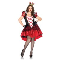 Royal Red Queen Plus Size Womens Costume
