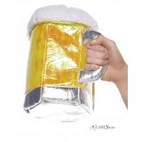 Beer Stein Plush Purse - Oktoberfest, Beerfest