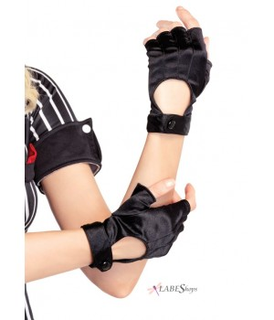 Fingerless Black Motorcycle Gloves Cosplay Costume Closet Halloween Shop Halloween Cosplay Costumes | Kids, Adult & Plus Size Halloween Costumes