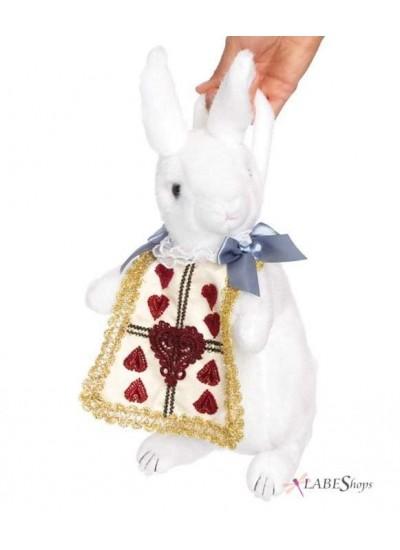 Wonderland Rabbit Plush Purse at Cosplay Costume Closet Halloween Shop, Halloween Cosplay Costumes | Kids, Adult & Plus Size Halloween Costumes
