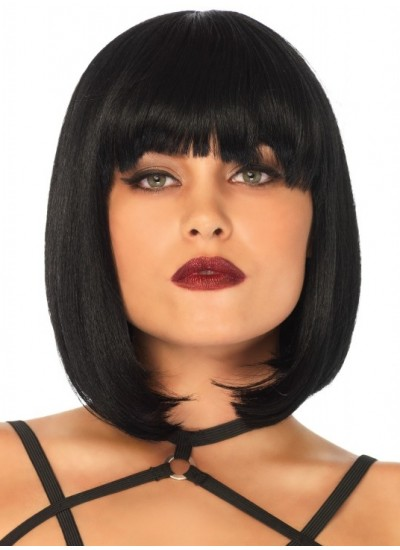 Short Natural Bob Wig at Cosplay Costume Closet Halloween Shop, Halloween Cosplay Costumes | Kids, Adult & Plus Size Halloween Costumes
