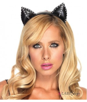 Stitched Kitty Cat Ears Cosplay Costume Closet Halloween Shop Halloween Cosplay Costumes | Kids, Adult & Plus Size Halloween Costumes