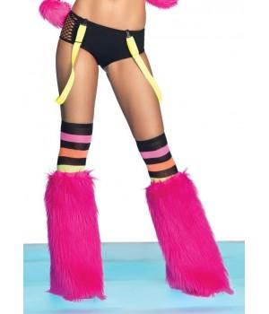 Neon Color Suspenders Cosplay Costume Closet Halloween Shop Halloween Cosplay Costumes   Kids, Adult & Plus Size Halloween Costumes