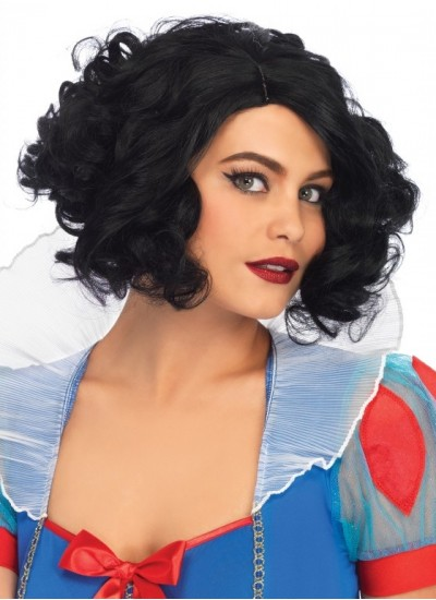 Curly Bob Short Wig at Cosplay Costume Closet Halloween Shop, Halloween Cosplay Costumes   Kids, Adult & Plus Size Halloween Costumes