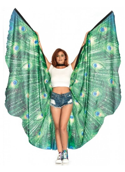 Peacock Festival Wings at Cosplay Costume Closet Halloween Shop, Halloween Cosplay Costumes | Kids, Adult & Plus Size Halloween Costumes