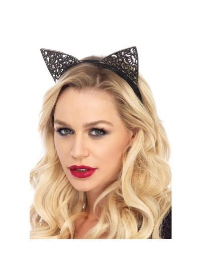 Filigree Glitter Kitty Cat Ears at Cosplay Costume Closet Halloween Shop, Halloween Cosplay Costumes | Kids, Adult & Plus Size Halloween Costumes