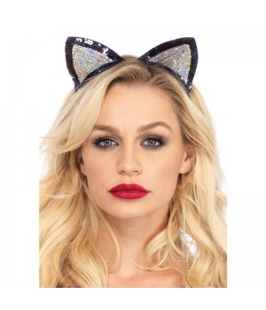 Sequin Kitty Cat Ears Cosplay Costume Closet Halloween Shop Halloween Cosplay Costumes | Kids, Adult & Plus Size Halloween Costumes