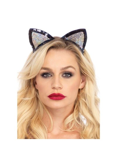 Sequin Kitty Cat Ears at Cosplay Costume Closet Halloween Shop, Halloween Cosplay Costumes | Kids, Adult & Plus Size Halloween Costumes