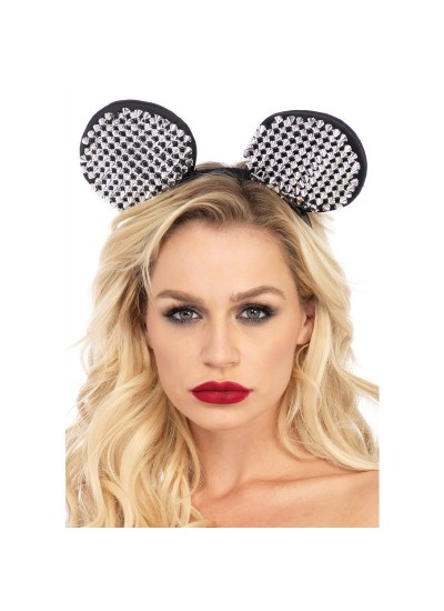 Studded Mouse Ears at Cosplay Costume Closet Halloween Shop, Halloween Cosplay Costumes | Kids, Adult & Plus Size Halloween Costumes