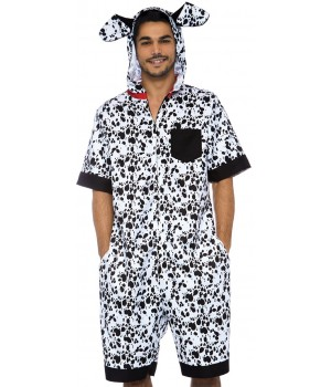 Dalmation Dog Mens Comfortable Costume Cosplay Costume Closet Halloween Shop Halloween Cosplay Costumes | Kids, Adult & Plus Size Halloween Costumes
