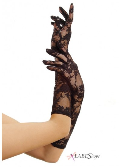 Black Elbow Length Lace Gloves at Cosplay Costume Closet Halloween Shop, Halloween Cosplay Costumes | Kids, Adult & Plus Size Halloween Costumes