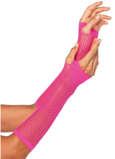 Neon Pink Triangle Net Fingerless Gloves at Cosplay Costume Closet Halloween Costume Shop, Halloween Cosplay Costumes | Kids, Adult & Plus Size Halloween Costumes