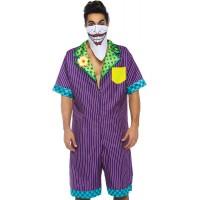 Gotham Super Villain Mens Comfortable Costume