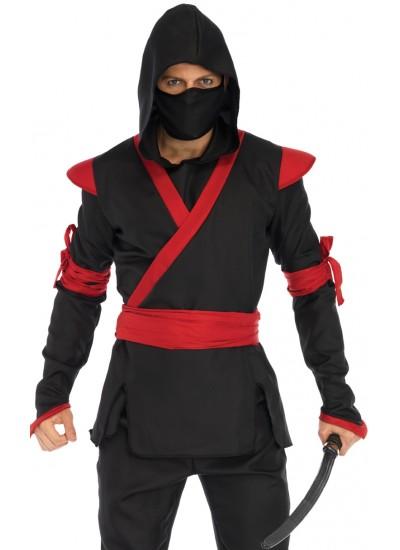 Ninja Mens Halloween Costume at Cosplay Costume Closet Halloween Shop, Halloween Cosplay Costumes   Kids, Adult & Plus Size Halloween Costumes