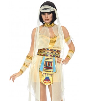 Nile Mummy Womens Adult Costume Cosplay Costume Closet Halloween Shop Halloween Cosplay Costumes | Kids, Adult & Plus Size Halloween Costumes