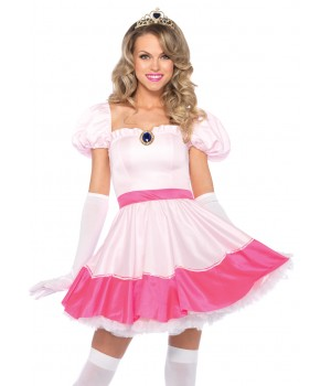 Pink Princess Adult Womens Costume Cosplay Costume Closet Halloween Shop Halloween Cosplay Costumes | Kids, Adult & Plus Size Halloween Costumes