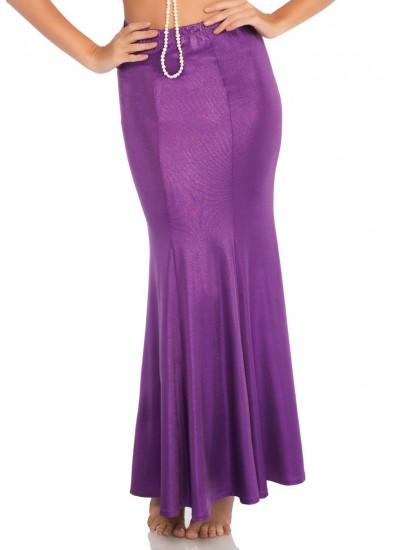 Purple Shimmer Spandex Mermaid Skirt at Cosplay Costume Closet Halloween Shop, Halloween Cosplay Costumes   Kids, Adult & Plus Size Halloween Costumes