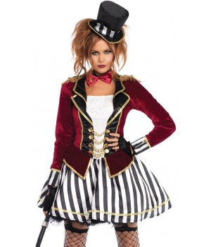 Ringmaster Night Womens Costume Cosplay Costume Closet Halloween Shop Halloween Cosplay Costumes | Kids, Adult & Plus Size Halloween Costumes