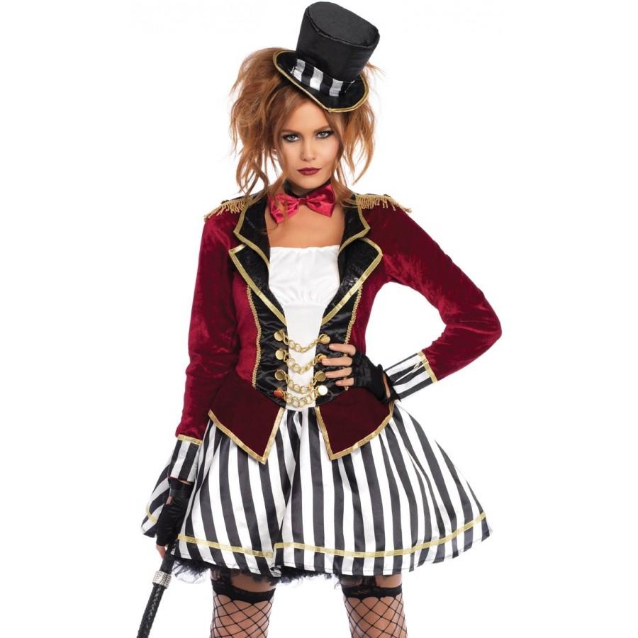 Ringmaster Night Womens Costume at Cosplay Costume Closet Halloween Costume  Shop b13c2176f1