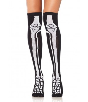 Skeleton Over the Knee Socks Cosplay Costume Closet Halloween Shop Halloween Cosplay Costumes | Kids, Adult & Plus Size Halloween Costumes