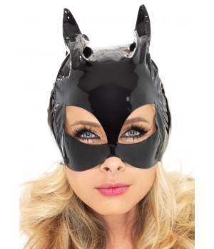 Black Vinyl Cat Mask Cosplay Costume Closet Halloween Shop Halloween Cosplay Costumes | Kids, Adult & Plus Size Halloween Costumes