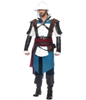 Assassins Creed Edward Mens Costume Cosplay Costume Closet Halloween Shop Halloween Cosplay Costumes | Kids, Adult & Plus Size Halloween Costumes