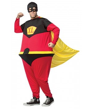 Superhero Hoopster Adult Costume Cosplay Costume Closet Halloween Shop Halloween Cosplay Costumes | Kids, Adult & Plus Size Halloween Costumes