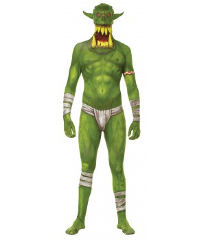 Morph Green Jaw Dropper Halloween Adult Morphsuit Cosplay Costume Closet Halloween Shop Halloween Cosplay Costumes | Kids, Adult & Plus Size Halloween Costumes