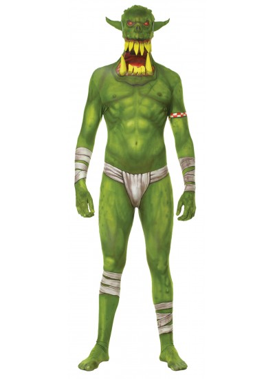Morph Green Jaw Dropper Halloween Adult Morphsuit at Cosplay Costume Closet Halloween Costume Shop, Halloween Cosplay Costumes | Kids, Adult & Plus Size Halloween Costumes