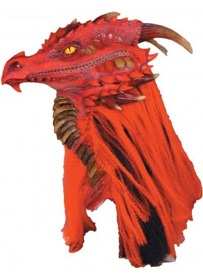 Brimstone Red Dragon Premiere Mask at Cosplay Costume Closet Halloween Shop, Halloween Cosplay Costumes | Kids, Adult & Plus Size Halloween Costumes
