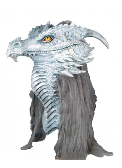 Ancient Frost Dragon Premiere Mask at Cosplay Costume Closet Halloween Shop, Halloween Cosplay Costumes | Kids, Adult & Plus Size Halloween Costumes