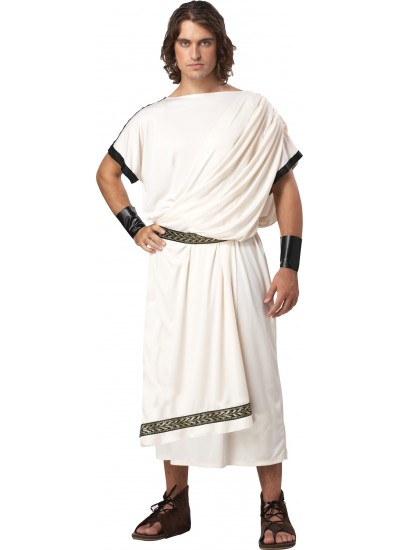 Toga Classic Deluxe Unisex Costume at Cosplay Costume Closet Halloween Shop, Halloween Cosplay Costumes | Kids, Adult & Plus Size Halloween Costumes