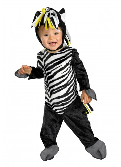 Zany Zebra Toddler Costume - 12-18 Months at Cosplay Costume Closet Halloween Shop, Halloween Cosplay Costumes | Kids, Adult & Plus Size Halloween Costumes
