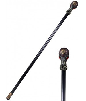 Steampunk Octopus Walking Stick Cane