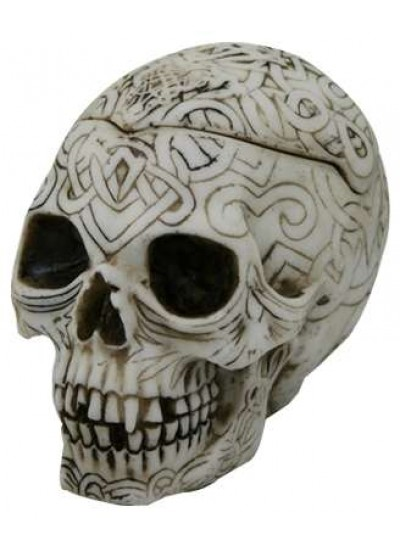 Celtic Skull Small Box at Cosplay Costume Closet Halloween Shop, Halloween Cosplay Costumes | Kids, Adult & Plus Size Halloween Costumes