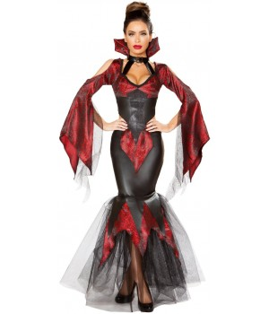 Dark Vampire 2 Piece Halloween Costume Cosplay Costume Closet Halloween Shop Halloween Cosplay Costumes | Kids, Adult & Plus Size Halloween Costumes