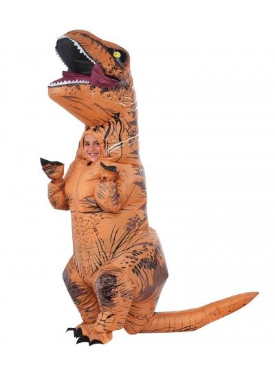 T-Rex Inflatable Kids Dinosaur Costume at Cosplay Costume Closet Halloween Shop, Halloween Cosplay Costumes | Kids, Adult & Plus Size Halloween Costumes
