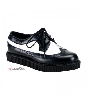 Rockabilly Mens Leather Creeper Loafer Cosplay Costume Closet Halloween Cosplay Costumes | Kids, Adult & Plus Size Halloween Costumes