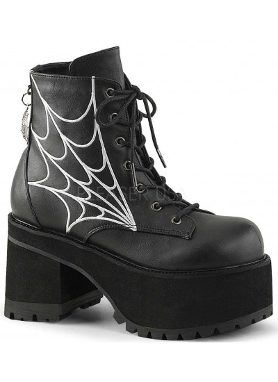Webbed Ranger Womens Gothic Platform Boot at Cosplay Costume Closet Halloween Shop, Halloween Cosplay Costumes | Kids, Adult & Plus Size Halloween Costumes