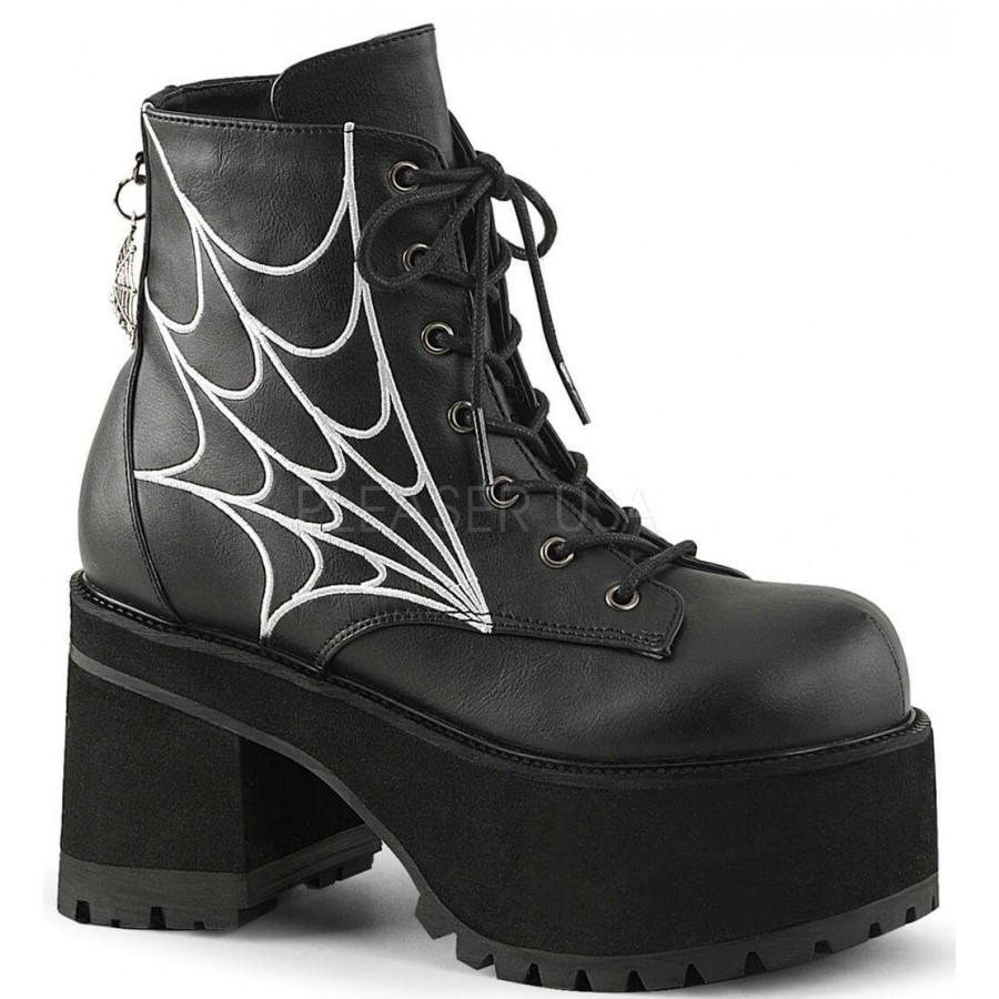 3be7bbe763ac Webbed Ranger Womens Gothic Platform Boot at Cosplay Costume Closet  Halloween Costume Shop